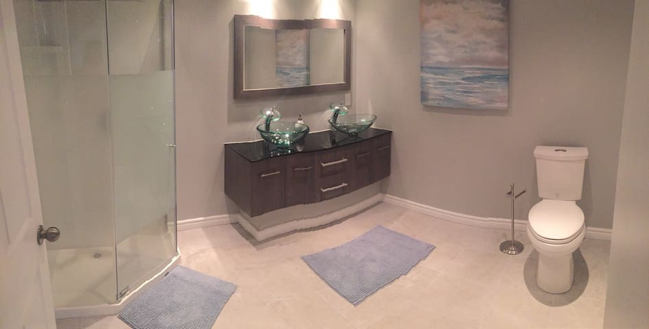 Spacious and private basement suite with personal entrance