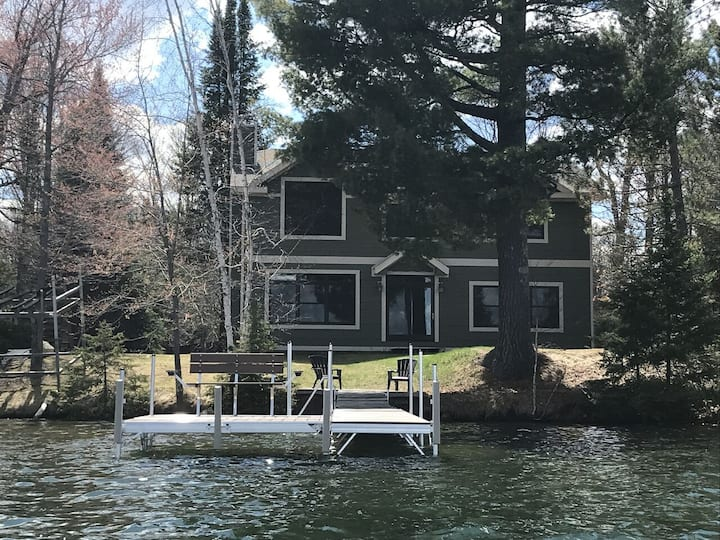 WEST HAGERMAN LAKE HOUSE (Iron River, MI): Open year round!