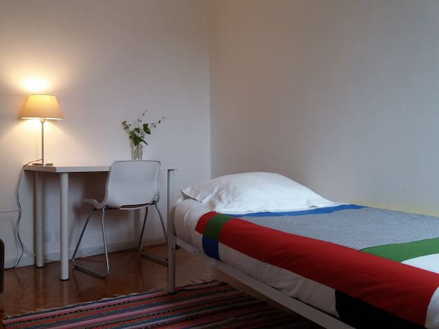 Cosy single room at historical centre