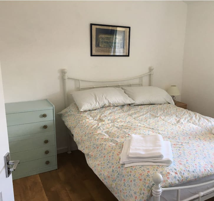 One of two comfortable double bedrooms