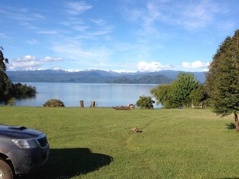 casa en lago puyehue, a minutos del centro de ski