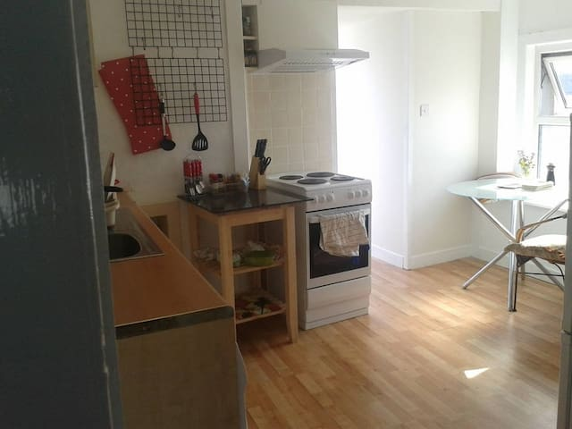 Entire flat on the second floor in town house - Sligo - Apartemen