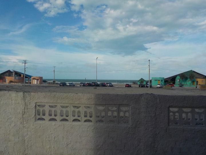 Dias de paz e ar puro próximo ao mar