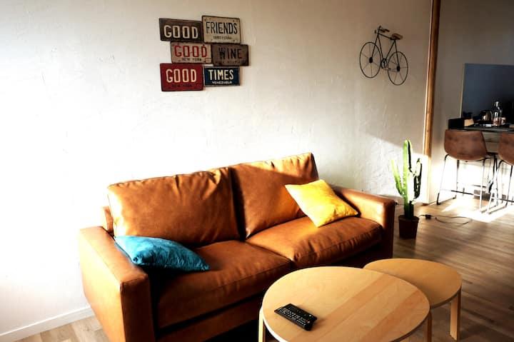 Appartement Sologne/terrasse/entrée autonome