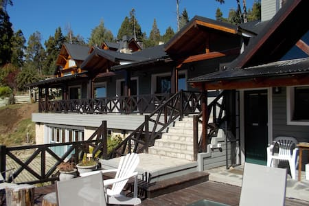Bariloche  Casa frente al lago en Barrio Privado