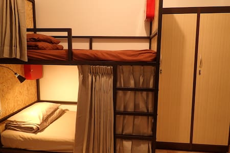 BANYAN.D, Female dorm by 2 bunk beds & 1 sofa bed