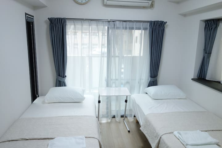 ★AZUL3★Tenjin & Canal City 6 min walk★FreeWiFi