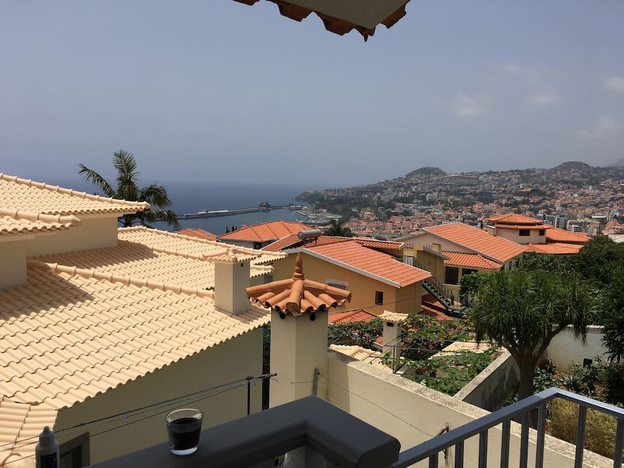 Amazing views over Funchal Bay