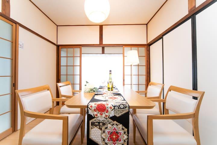 Great location in Yokkaichi !  Confortable house !