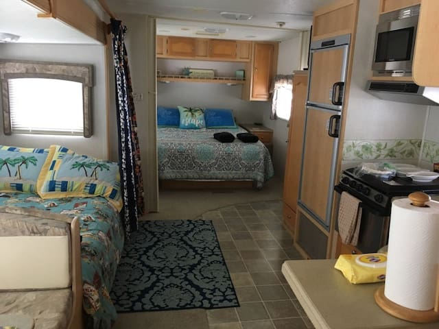 """ISLAND GIRL SOUTH""-Sleeps 4-RV Resort-Beach-WiFi"