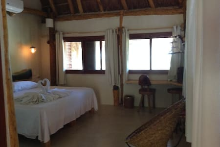 Enjoy & Relax: Cozy beachfront rooms in paradise 1 - Holbox - Zomerhuis/Cottage