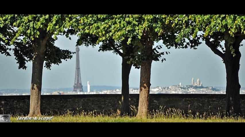 Chaleureux 3P Meudon Tour Eiffel - Meudon - Apartamento