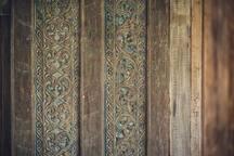 Balinese romantic door.
