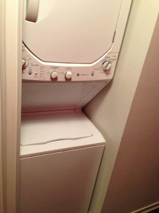 Free laundry!