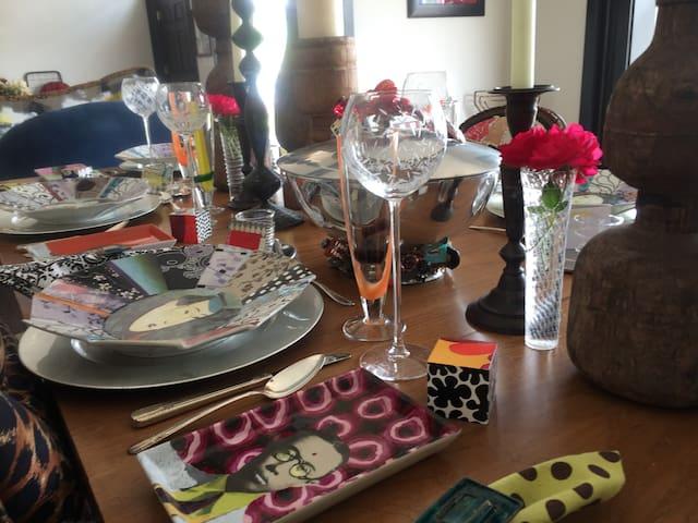 Frankfort Historical Artists Loft Guest Suite