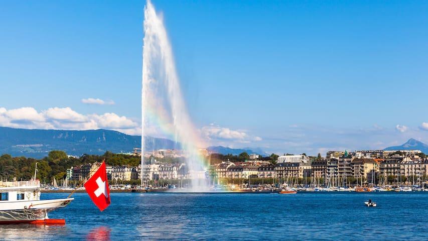 *Nice and modern room in Geneva