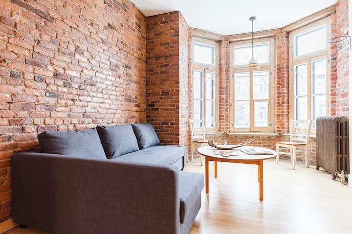 Chaleureux 2 étages , Haute - ville - Québec - Lejlighed