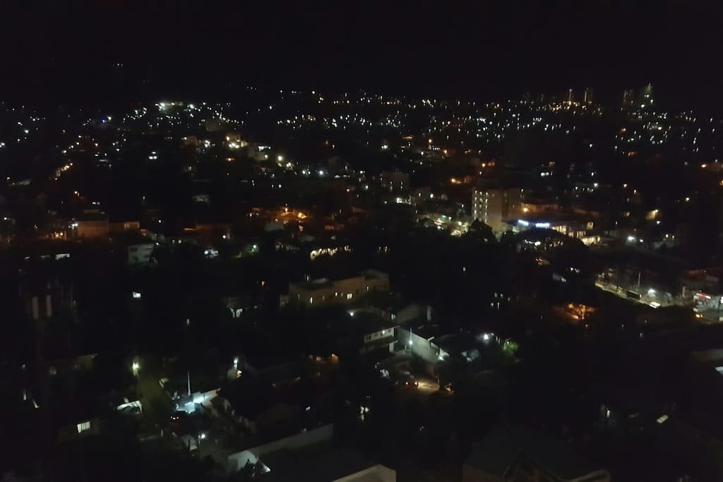 Bedroom view during night time