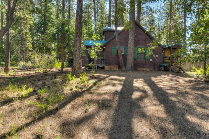Moonlight Cove- private cabin w/ Apple TV, backyard for snowball fights