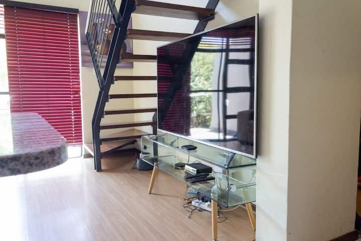 Fully furnished apartment in a secure golf estate