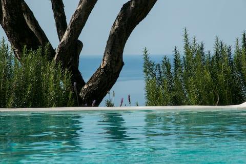 Luxurious Yades Villas - Koronis -Amazing sea view