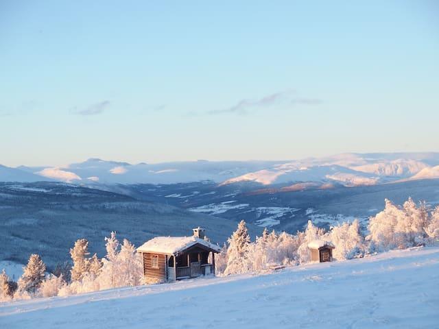 Winter. Jotunheimen view.