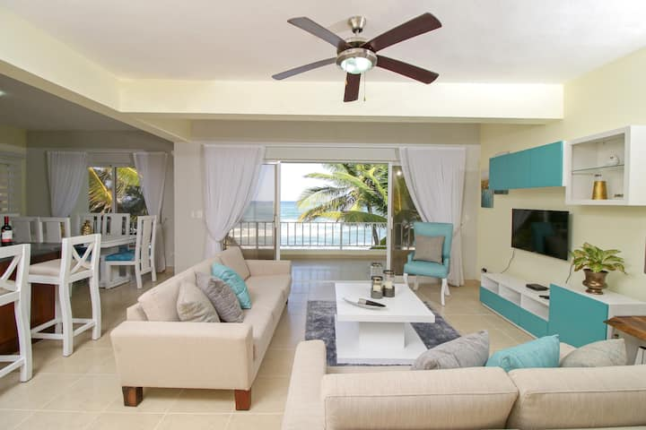 005 – Ocean Front Penthouse rental in Cabarete.