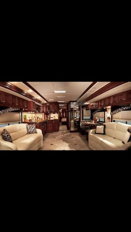 Rock Out In A Luxury Tour Bus  - Sleeps 8
