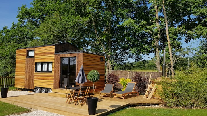 Tiny house Les Lodges du Canal de Bourgogne