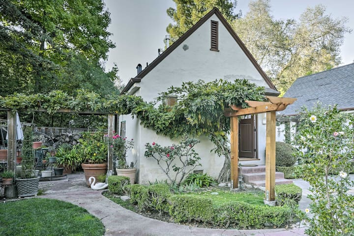Updated Menlo Park English Tudor Garden Cottage!