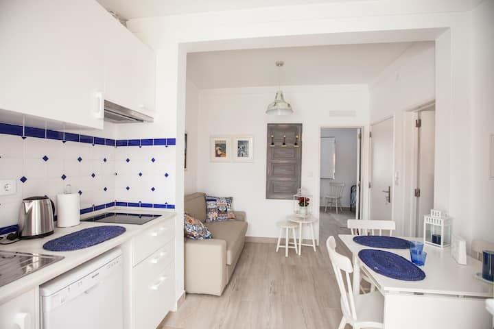 Great apartment T1 in Ericeira's center
