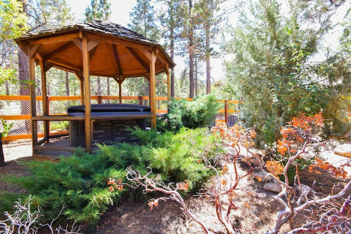 Willow Wonderland: Game Room! Near Snow Summit & Bear Mtn! Backs to Nation Forest! Roku TV!