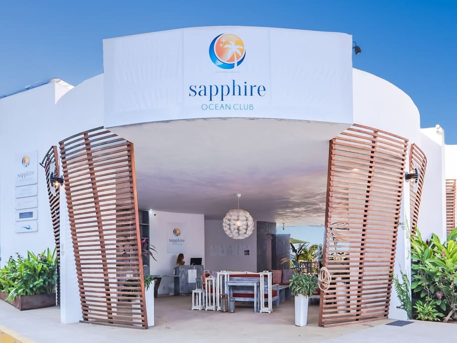 Welcome to Sapphire Ocean Club.