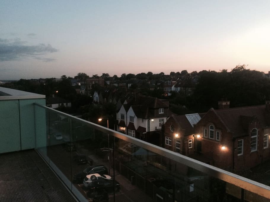 Beautiful south facing balcony