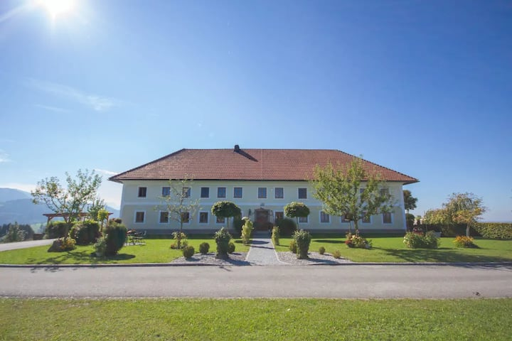 Panorama apartment with mountain view - Traunstein