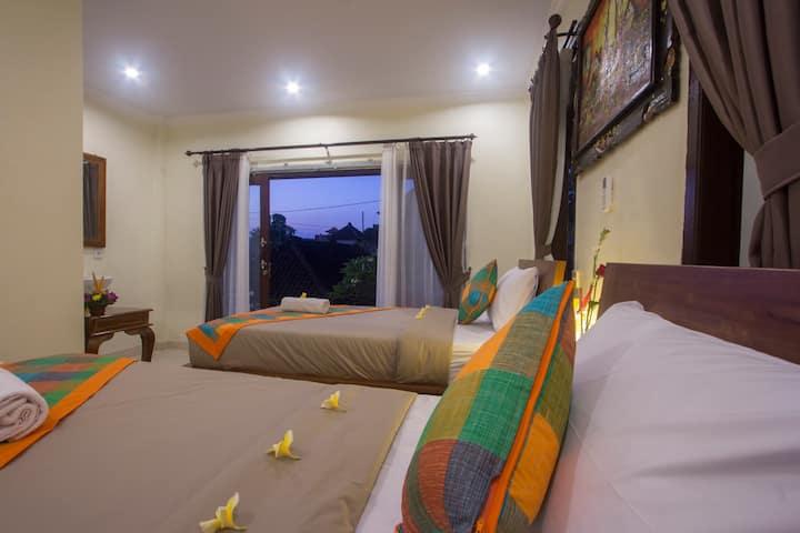 Twinbeds Upstair  nengah house