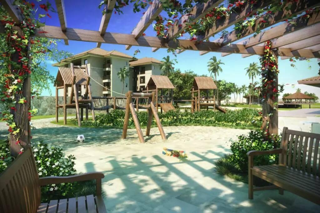 Lindo Mandara Kauai frente à praia