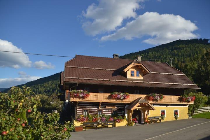 Appartements und uriges Ferienhäuschen in Kärnten