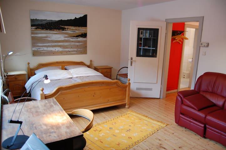 Charmante kleine ruhige Wohnung bei Mainz - Mainz - Apartment
