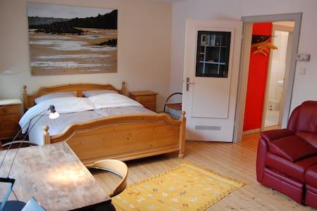 Charmante kleine ruhige Wohnung bei Mainz - Mainz - Appartement