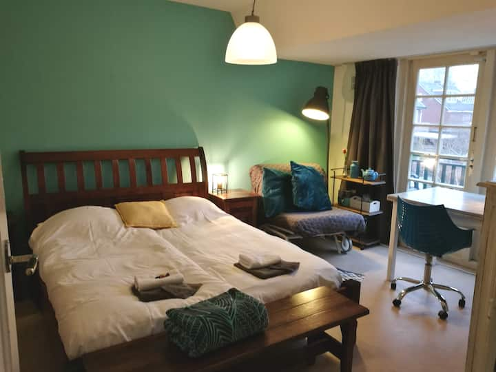 Private room &bath near Amsterdam & airport