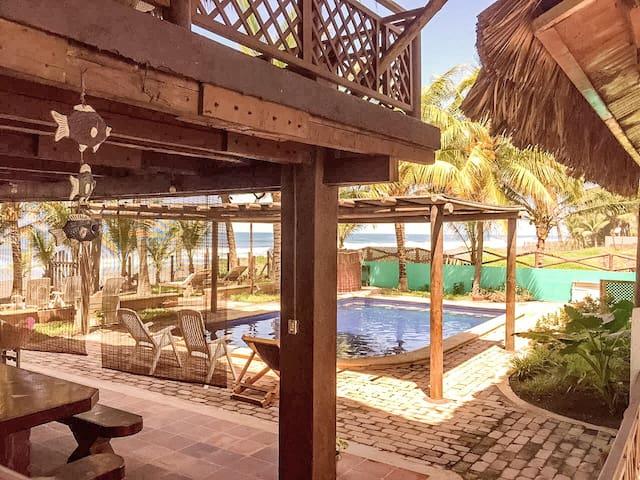 Rancho Marevento - Casa frente al mar en Guatemala - Sipacate