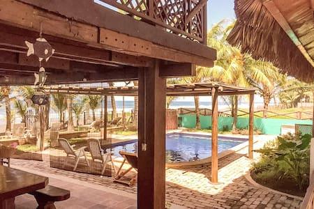 Rancho Marevento - Casa frente al mar en Guatemala - Sipacate - Casa