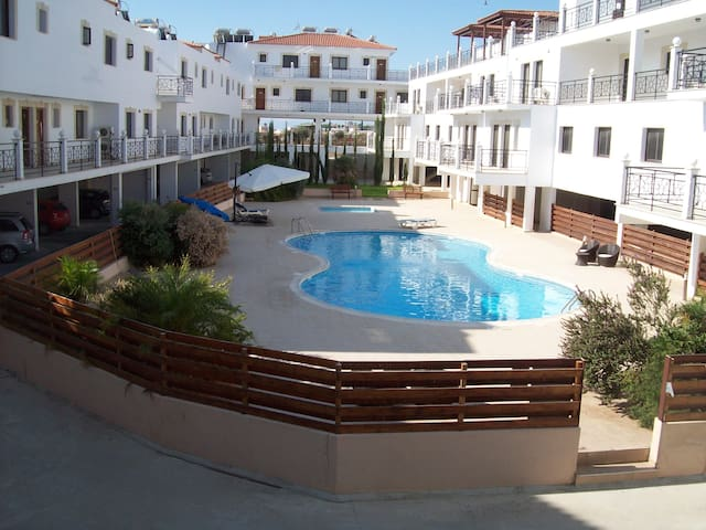1 Bed Apt Larnaca District Cyprus Free WIFI - Larnaca - Appartement