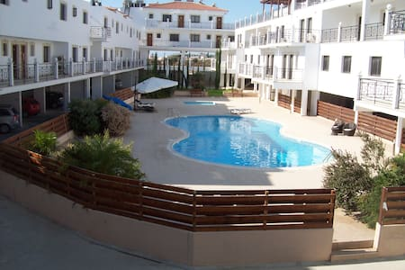 1 Bed Apt Larnaca District Cyprus Free WIFI - Larnaka