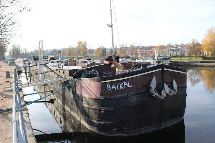 Péniche le baïkal - Épinal