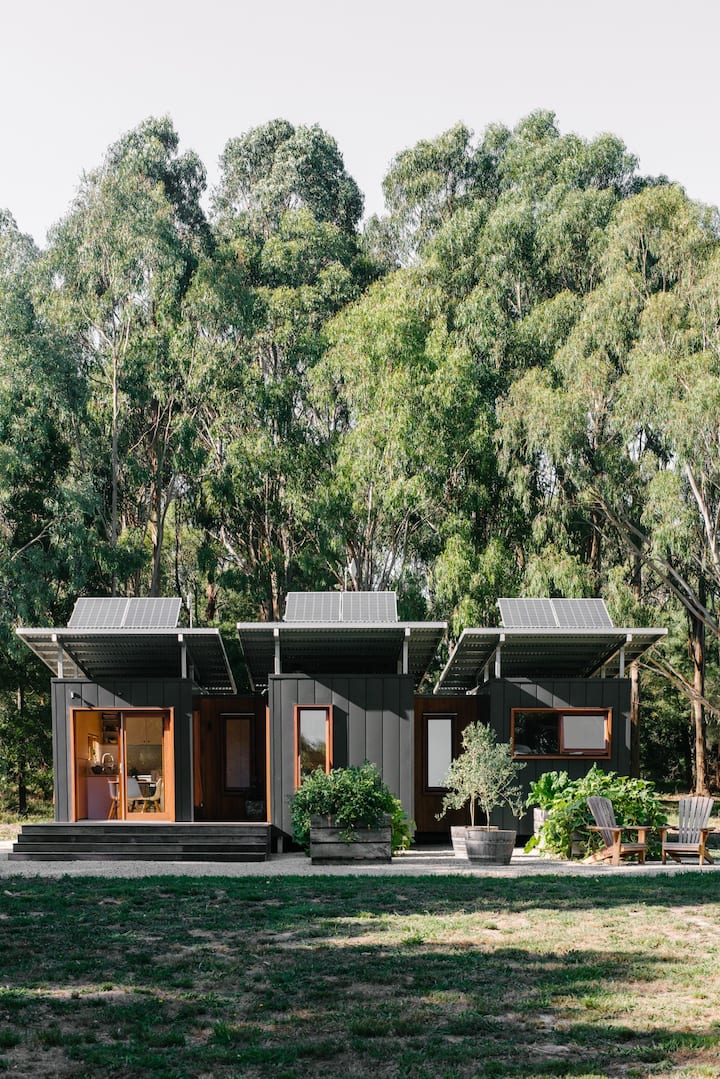 Shipping Container Home in the Bush