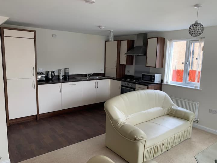 Warm, Clean and New 2 Bedroom Apartment.