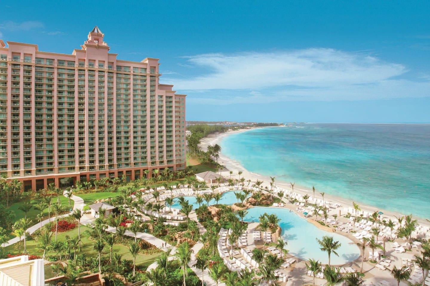 This is not a painting but a real photo. It is called Atlantis on Paradise Island, which is really a fitting name for what it really is: a place usually only exists long long ago and far far beyond. But now it is yours if you like it.