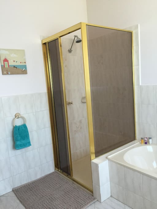 Bathroom showing the Shower